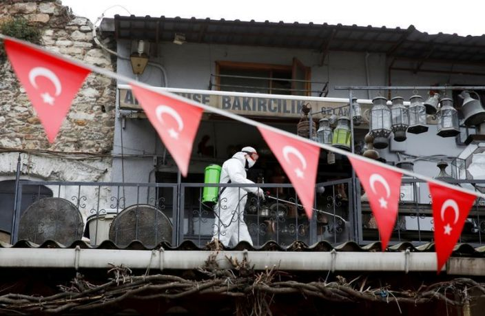 Turkey reports 1,610 new cases, dreams of V shaped recovery