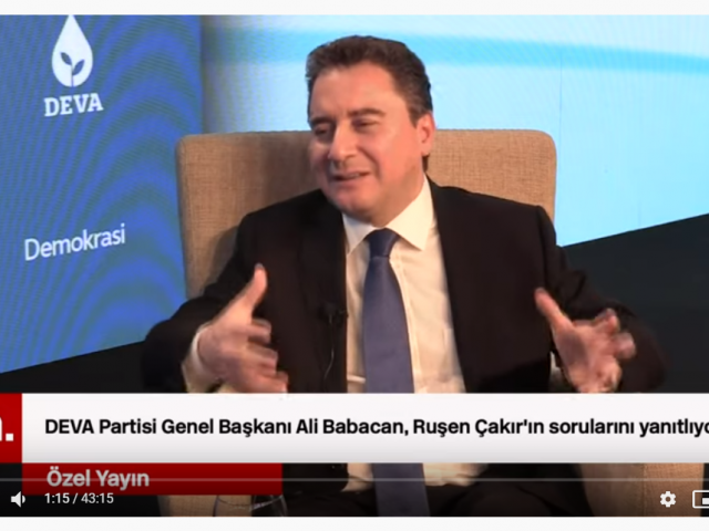 Turkey must win trust 'to secure foreign funds', says Ali Babacan