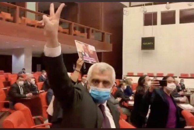 Turkey's justice system down one more grade: AKP-MHP strips pro-Kurdish legislator of seat in parliament