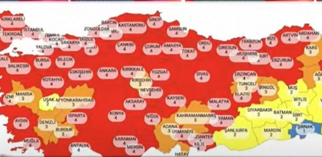New Covid-19 cases in Turkey exceeds 62,000
