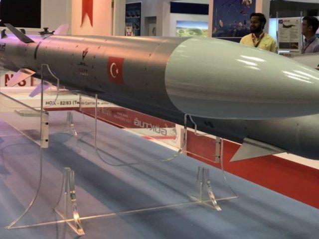 "Turkey's first air-to-air missile ""Bozdogan"" is a success"