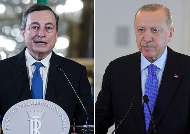 Italy's Draghi accuses 'dictator' Erdogan, draws Turkey's condemnation