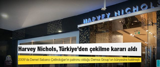 BREAKING:  Harvey Nichols quittign Turkey