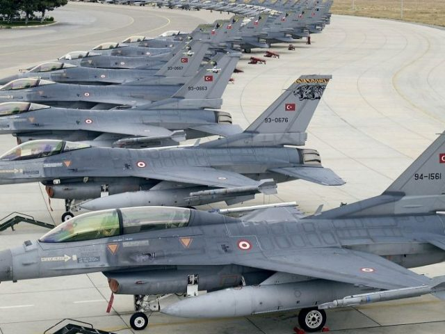 Turkish Air Force is becoming outdated, Turkish study suggests