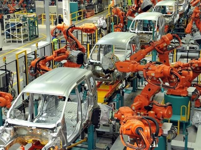Turkish industrial production increased by 13.8% annually