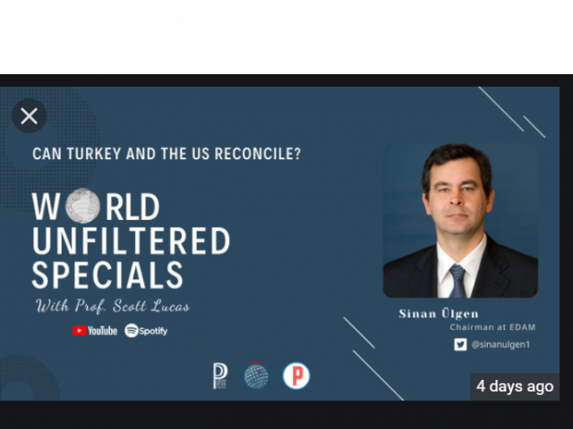 Can Turkey and the Us Reconcile? With Sinan Ülgen