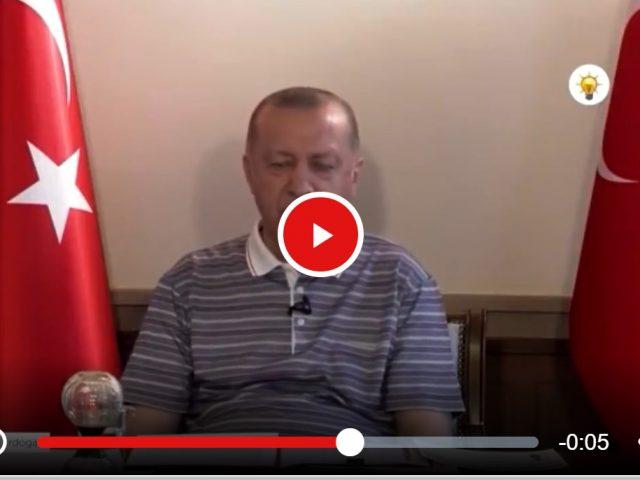 "Erdogan falls asleep ""at the Wheel"""