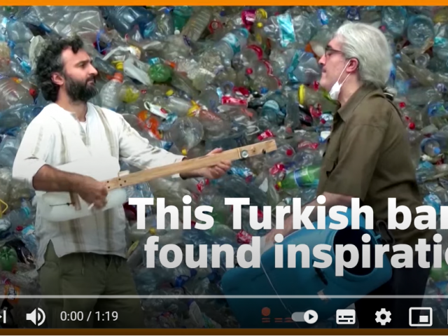 Turkish band finds inspiration from landfill