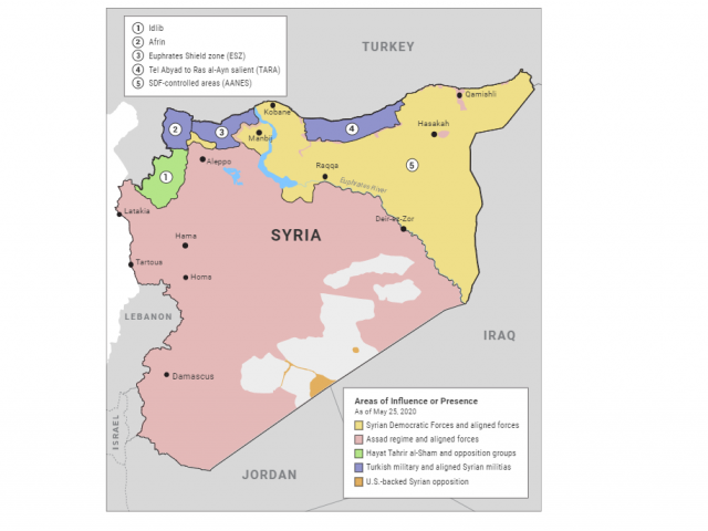 Center for American Progress: Northern Syria Security Dynamics and the Refugee Crisis