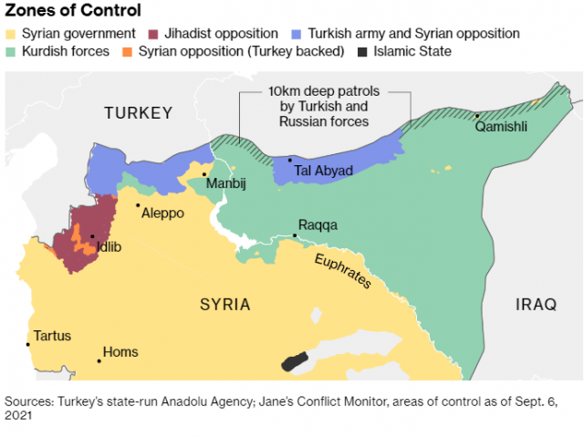 Turkey Sends More Troops to Syria Ahead of Key Putin Meeting