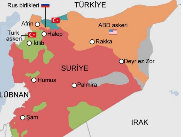 Terror strike in Turkey-controlled Afrin, Syria