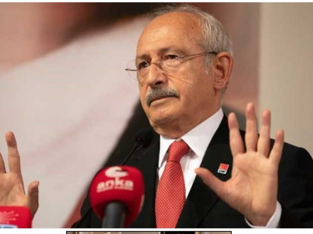 Turkey's main opposition leader seeks 'peace in the Middle East'