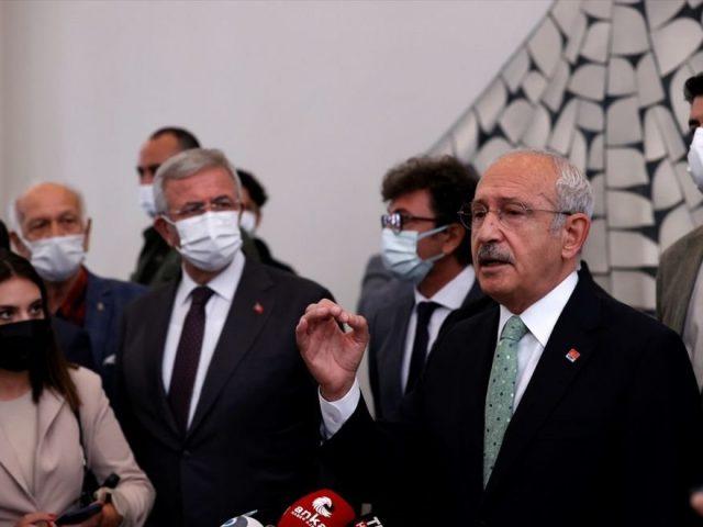 Main opposition leader Kılıçdaroğlu:  'We will bring peace to this country,'