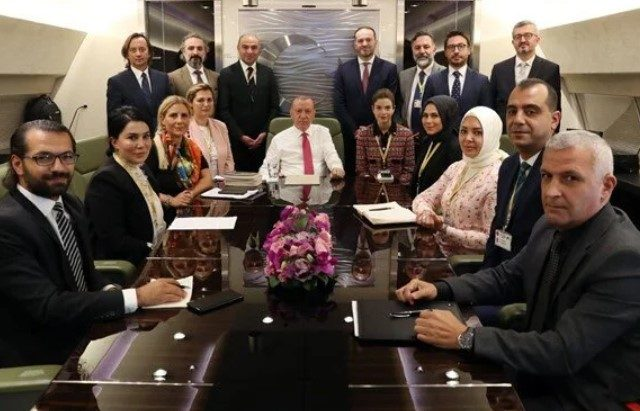 Erdoğan: Turkey shouldn't host ambassadors who called for Kavala's release