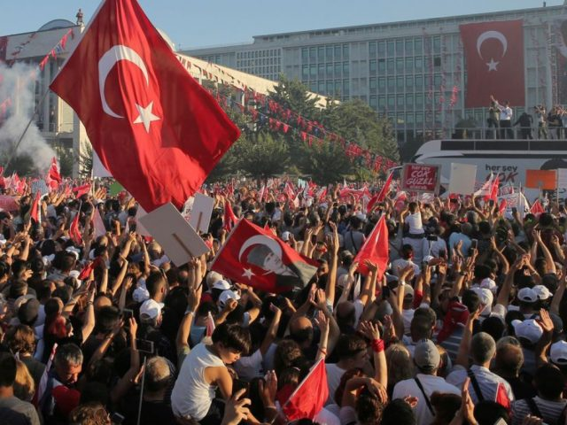 The rise of opposition elicits threats from President Erdogan